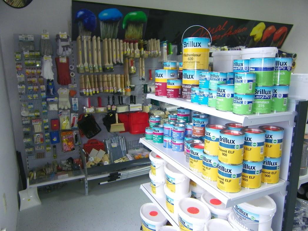 Farben von Knorr Groß u. Einzelhandel